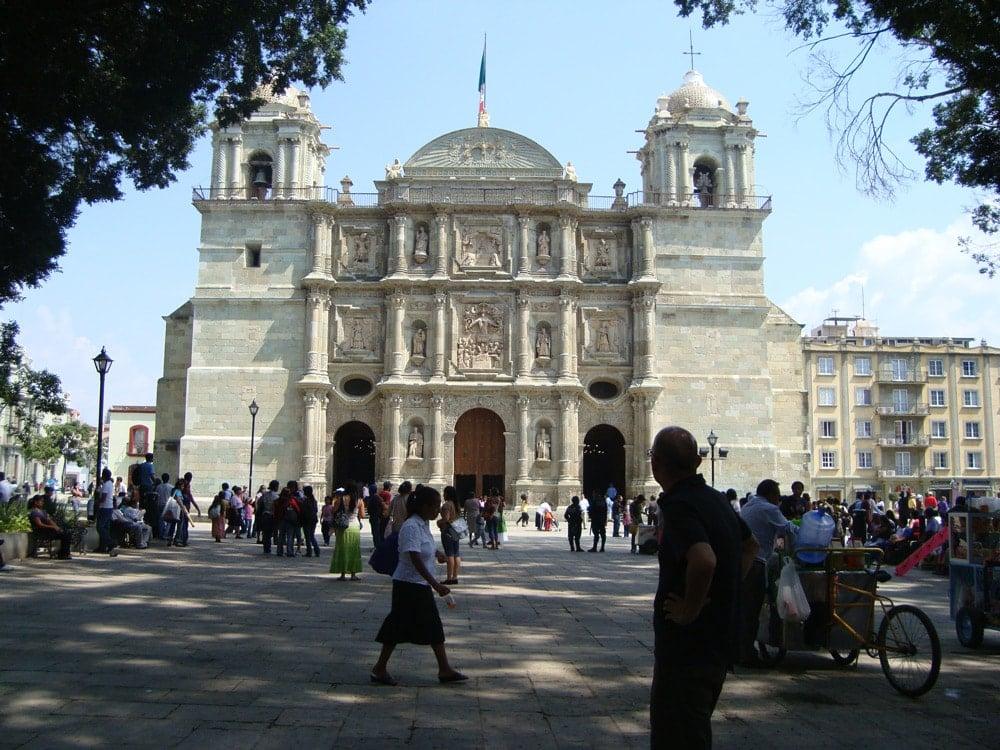 Zocalo Oaxaca