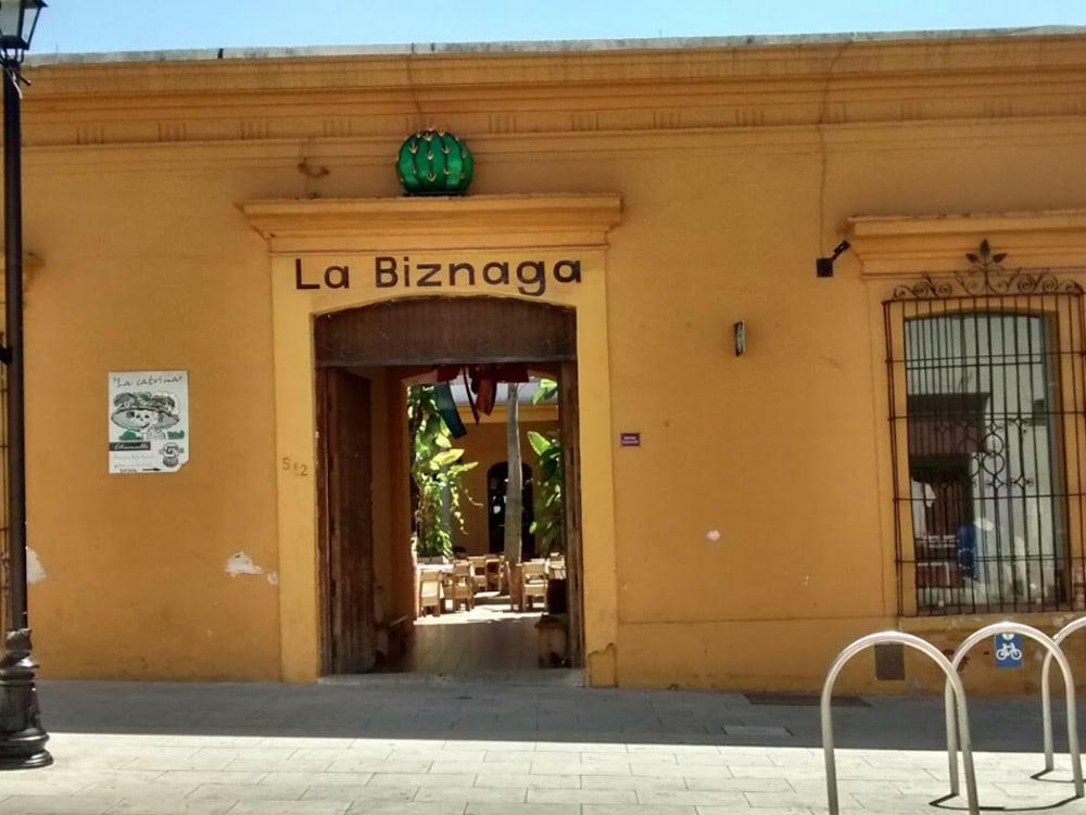La Biznaga Oaxaca Restaurant