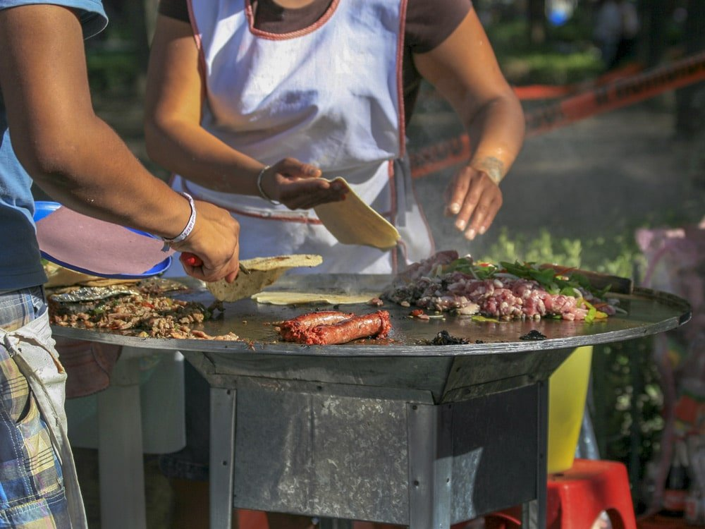 Street Food Scene in Mexico