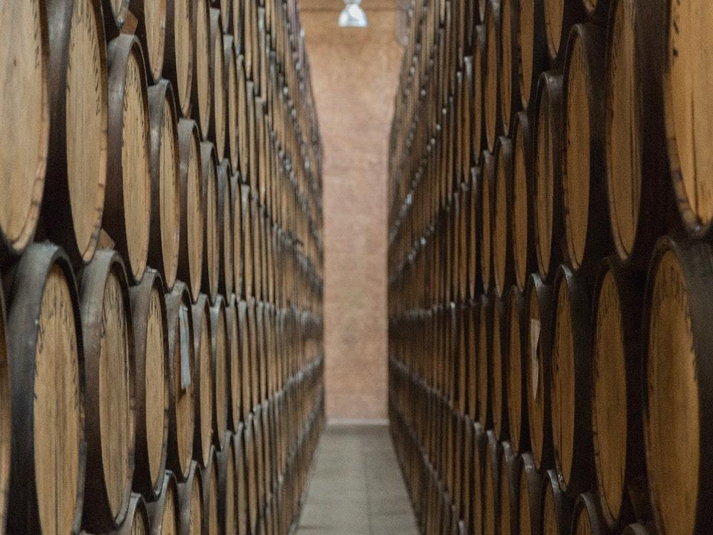 Mezcal Barrels