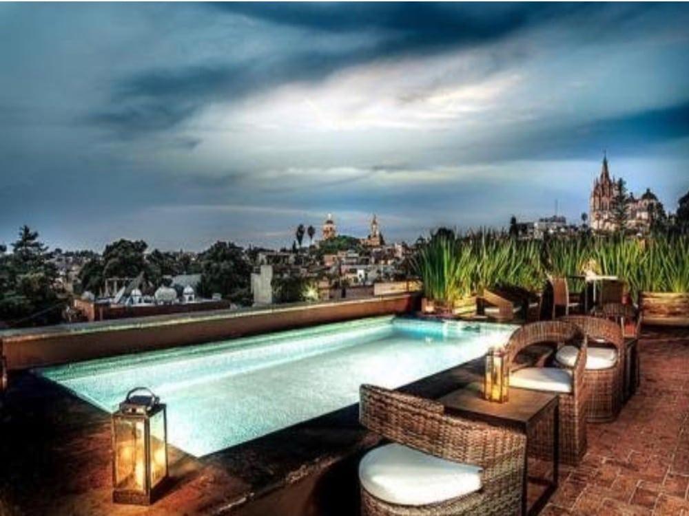 Hotel Nena Pool Rooftop Terrace
