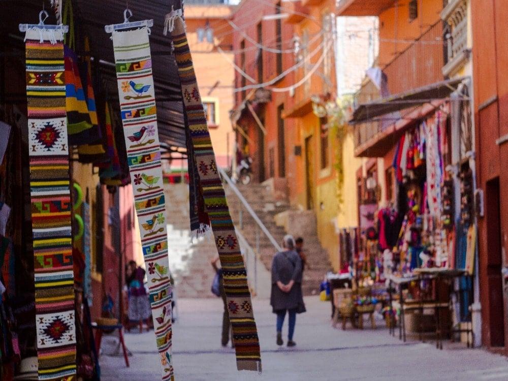 souvenirs in market