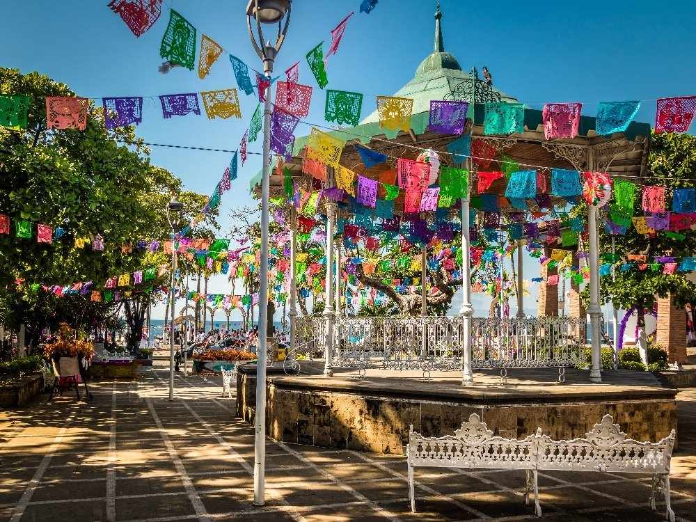 Main Square in Puerto Vallarta