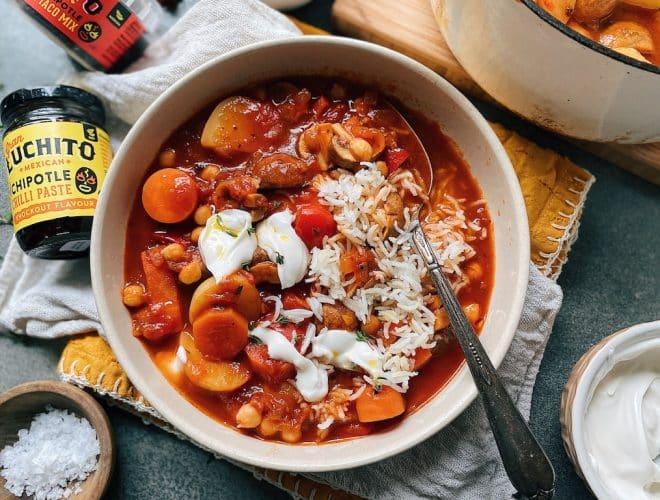 Spicy Vegan Stew