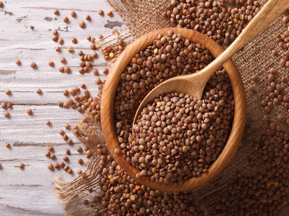 eating lentils for good fortune