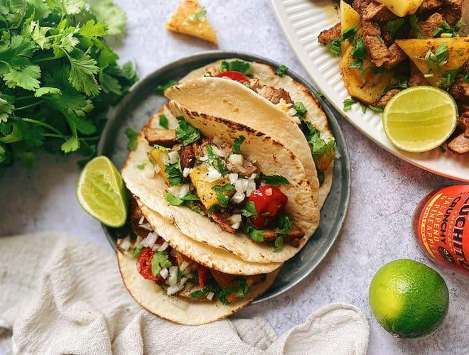 Tacos Al Pastor, Taco Recipe