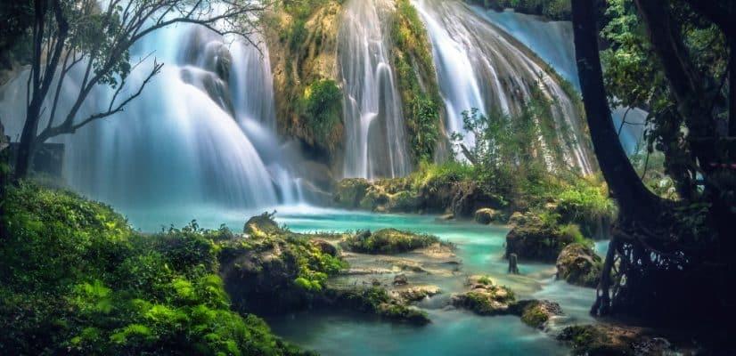 Waterfalls in Chiapas