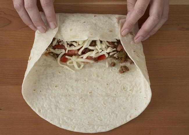 Wrap a burrito