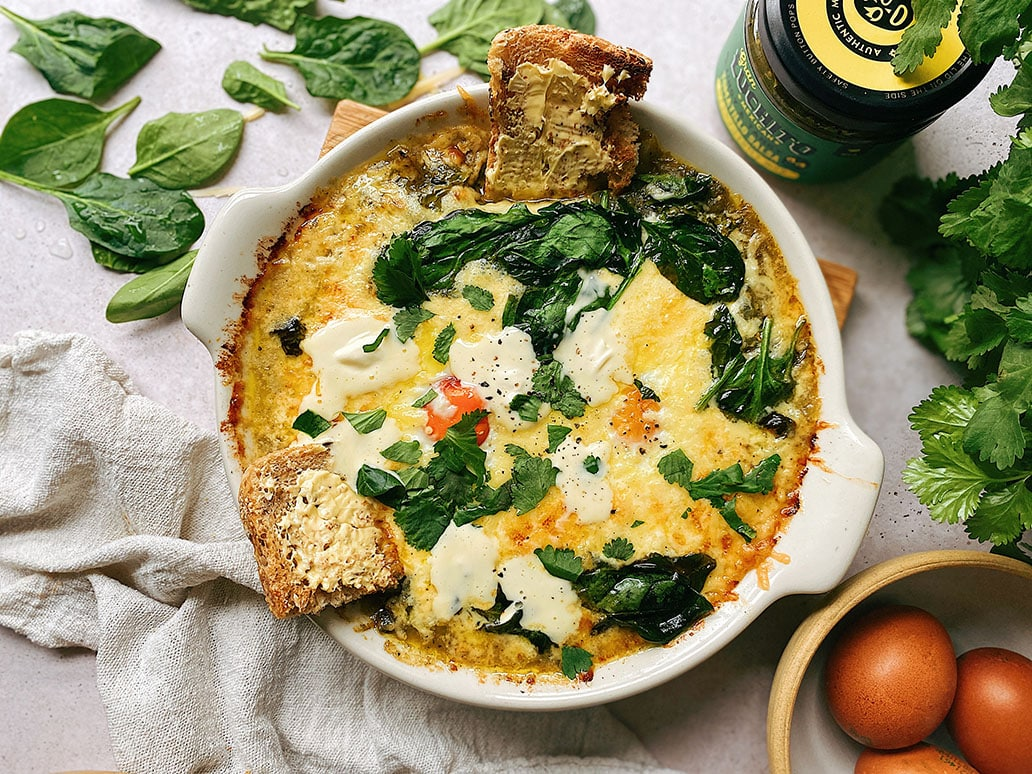 Mexican Baked Eggs - Mexican Breakfast Recipes