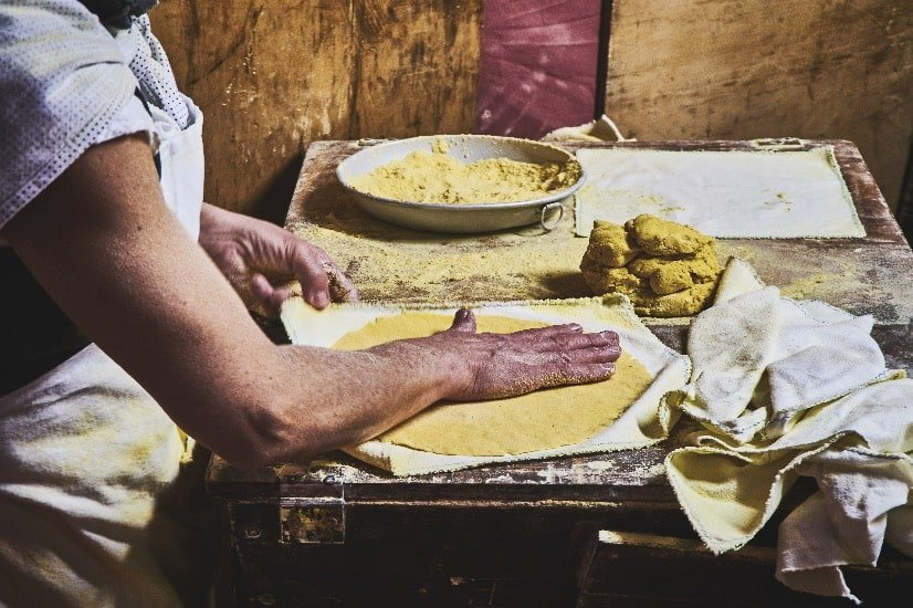 fresh handmade tortillas