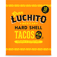 Hard Shell Tacos Product With Packaging