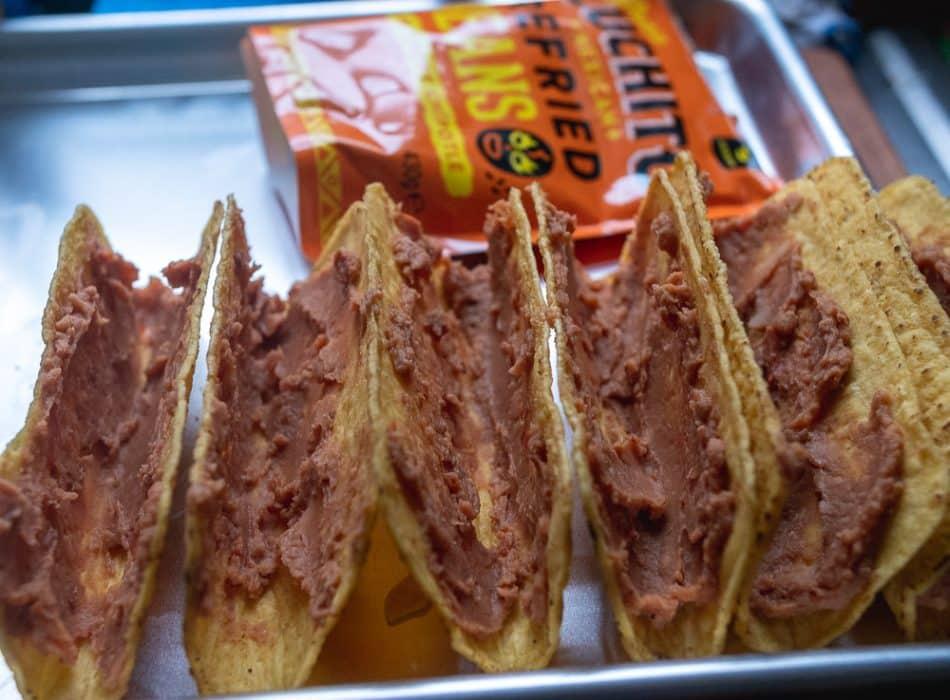Easy Crispy Chicken Taco