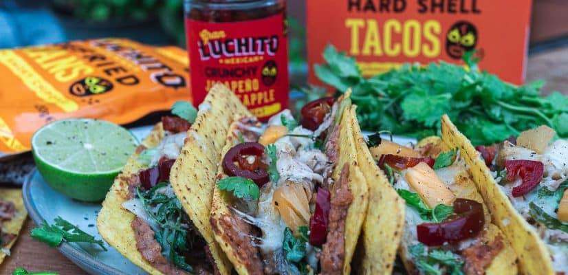 Easy Crispy Chicken Tacos
