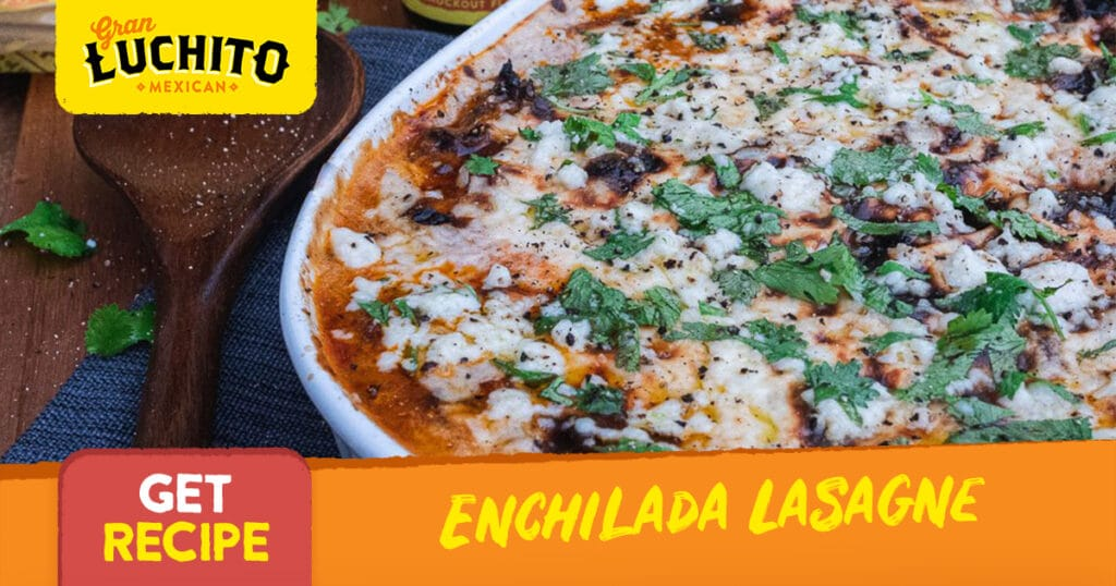 Enchilada Lasagne With Beef Short Ribs