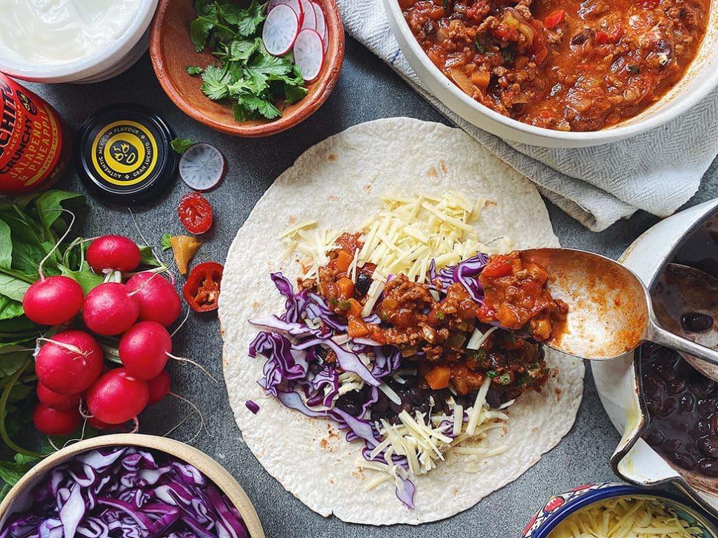 Chilli Con Carne Burrito