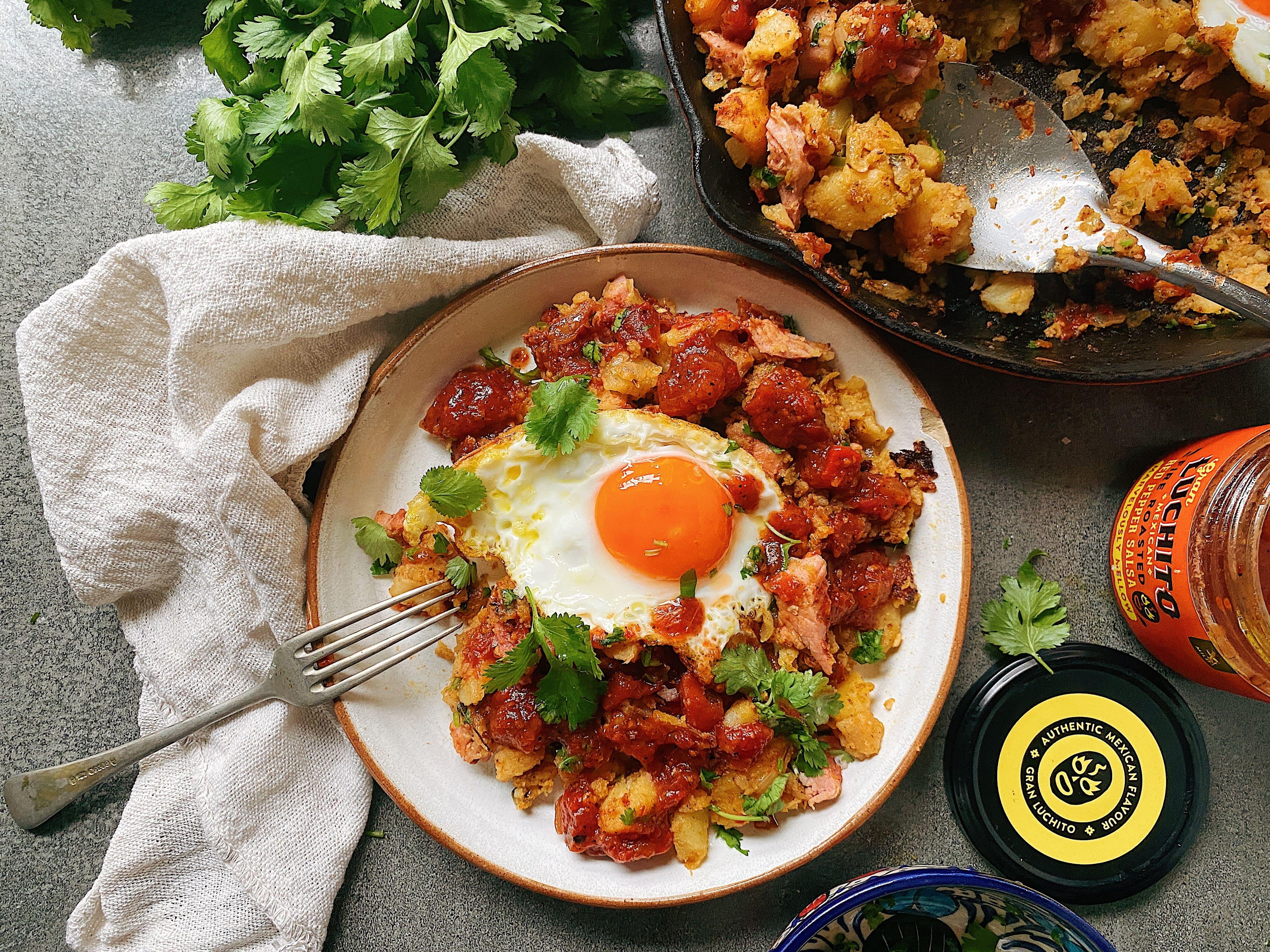 Potato & Gammon Hash
