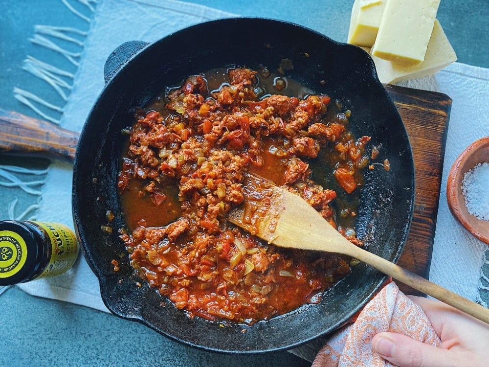 Chorizo Nachos