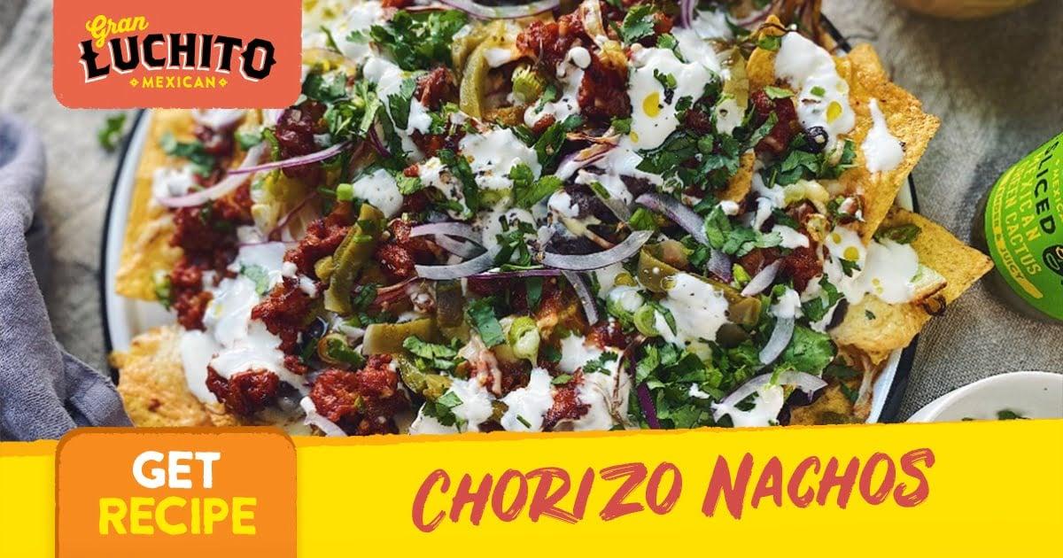 Chorizo Nachos - Nacho Recipes
