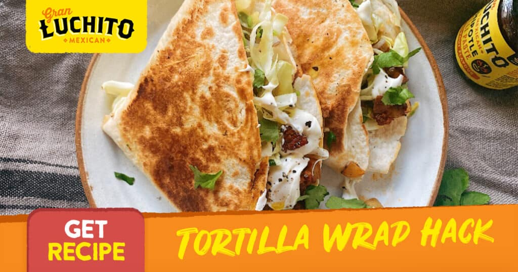 Tortilla Wrap Hack - burrito recipes