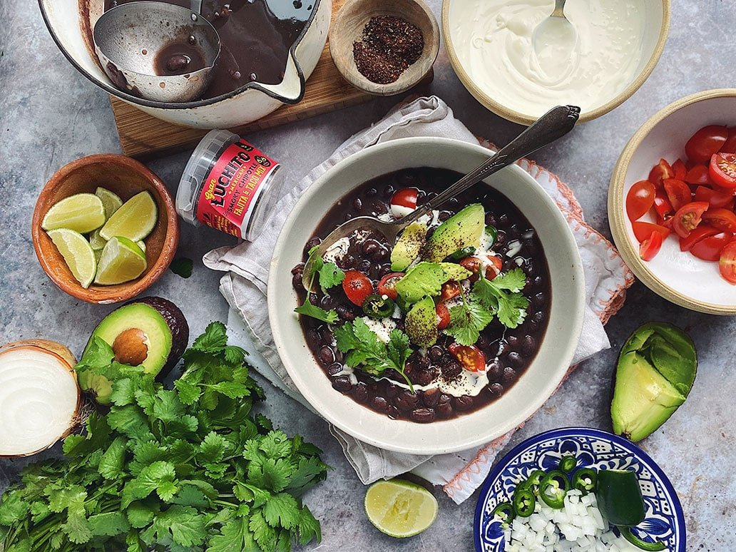 Mexican Black Beans - Comfort Food At Its Best