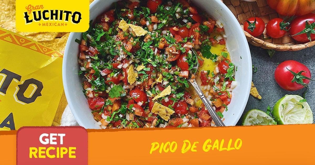 Pico De Gallo - Mexican Side Dishes