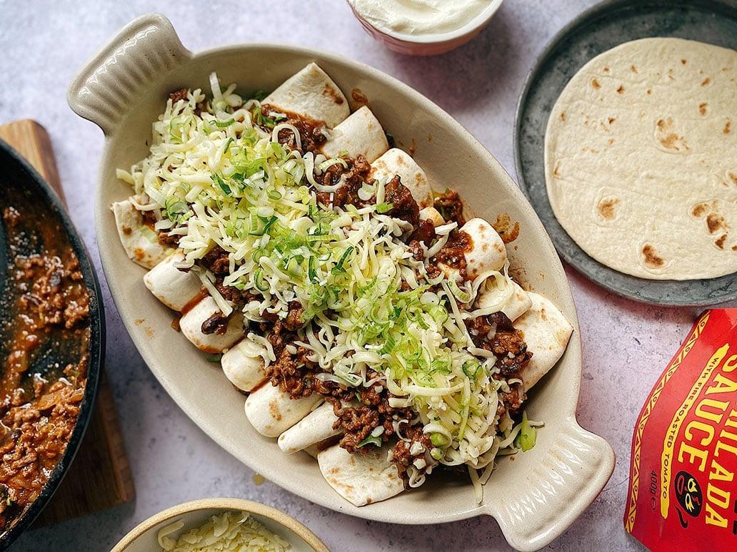 Beef Enchiladas 5