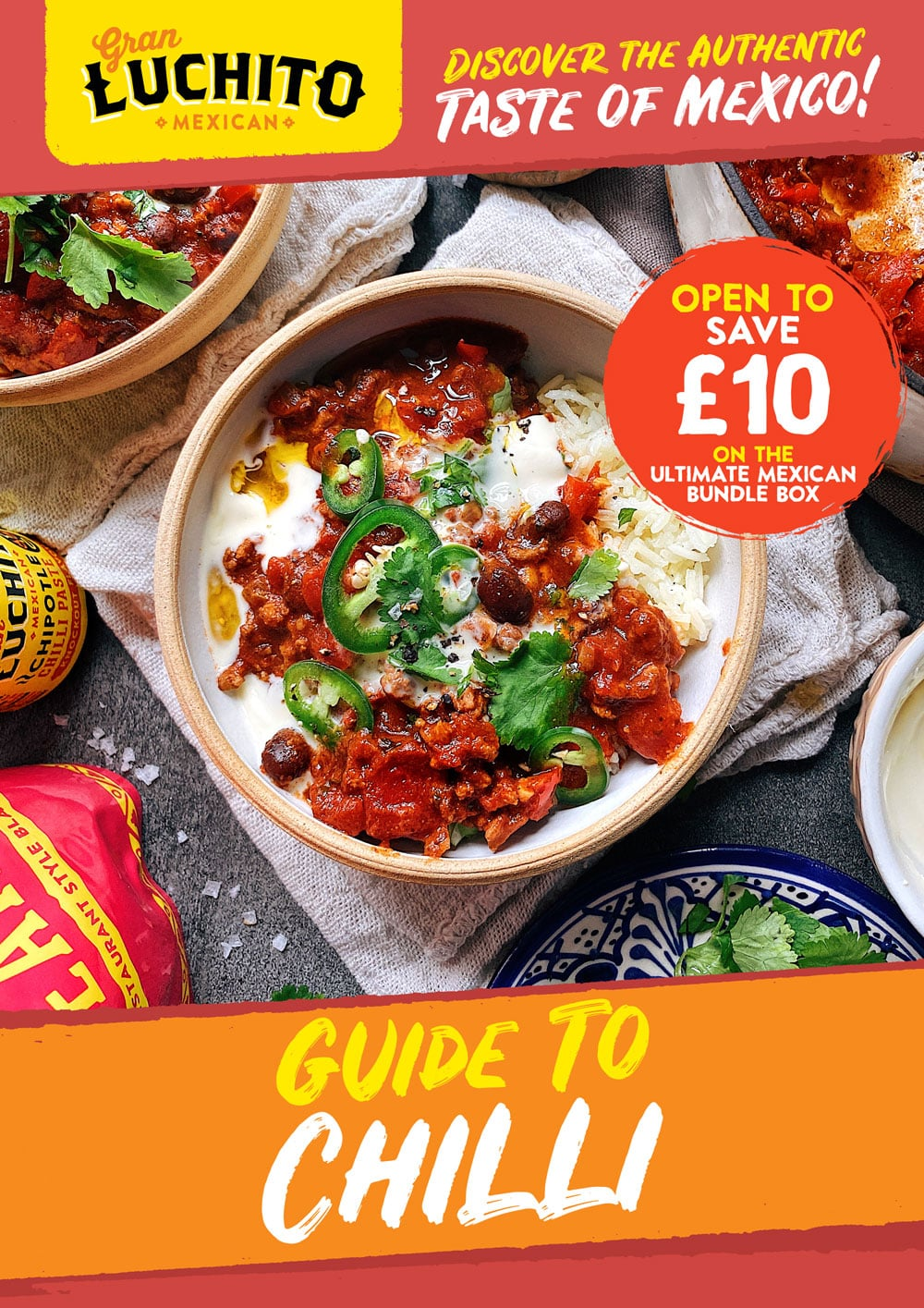 Sign up for our free Guide to Chilli