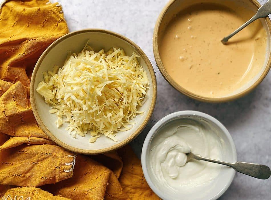 dairy toppings, quesadilla recipes
