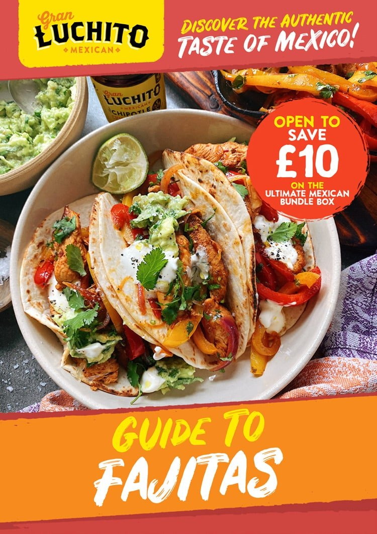 Sign Up For Our Free Guide to Fajitas