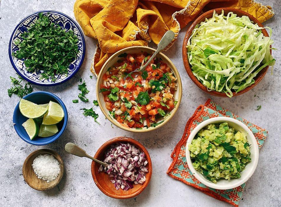 fresh toppings, quesadilla recipes