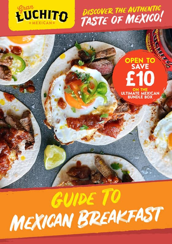 Sign up for our free Guide to Mexican Breakfast