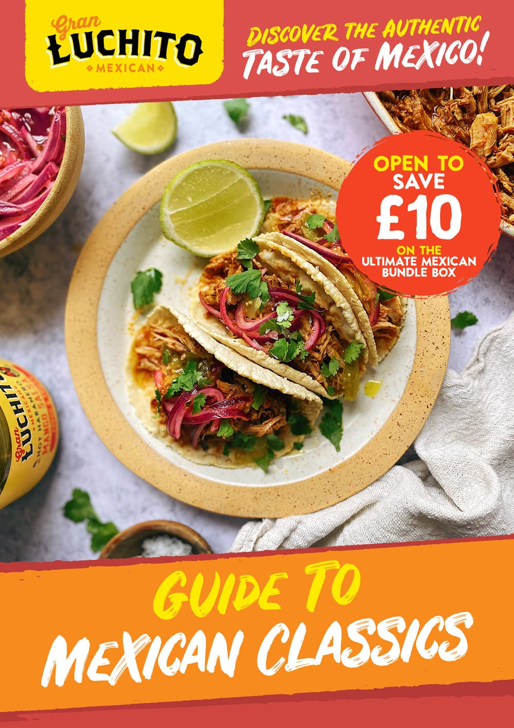 Sign up for our free guide to Mexican Classics