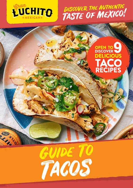 Sign up for our free Guide to Tacos