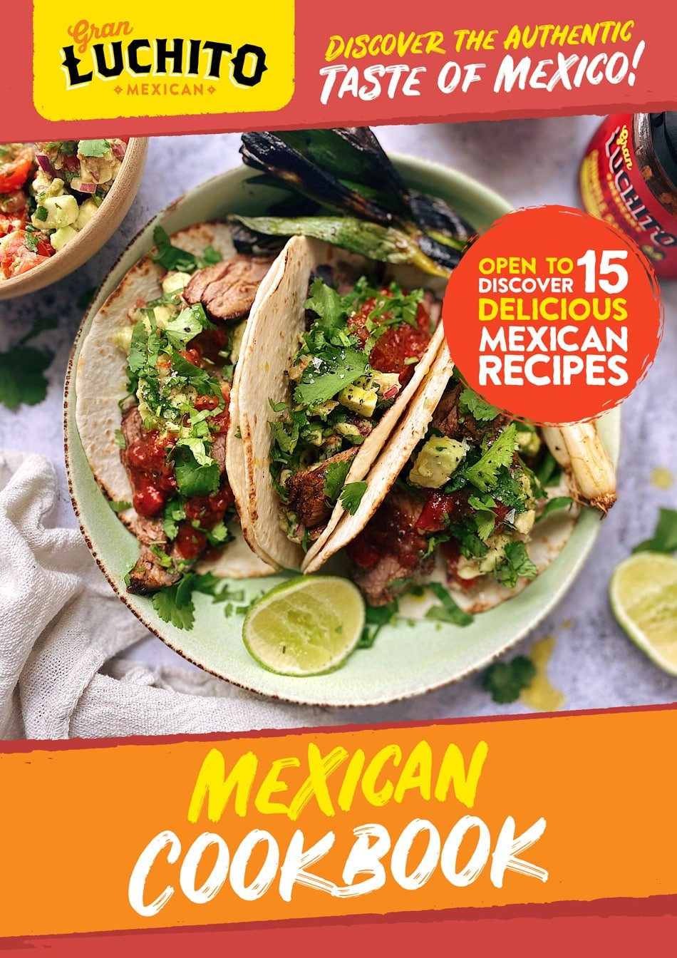 Sign up for our Free Mexican Cookbook